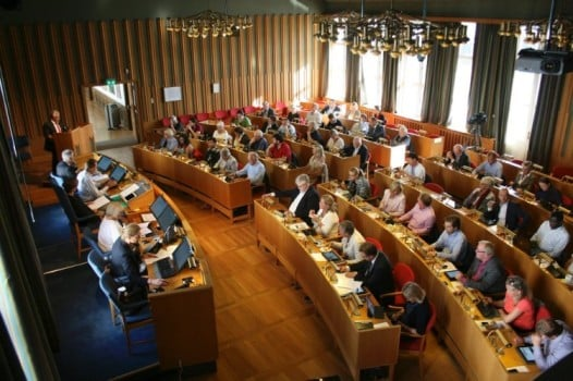 Seniorer underrepresentert i Bærum kommunestyre foto: Karl Braanaas
