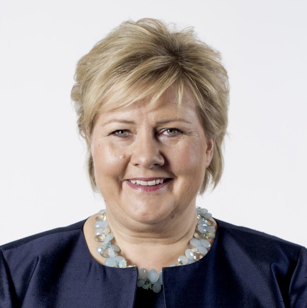 Statsminister Erna Solberg