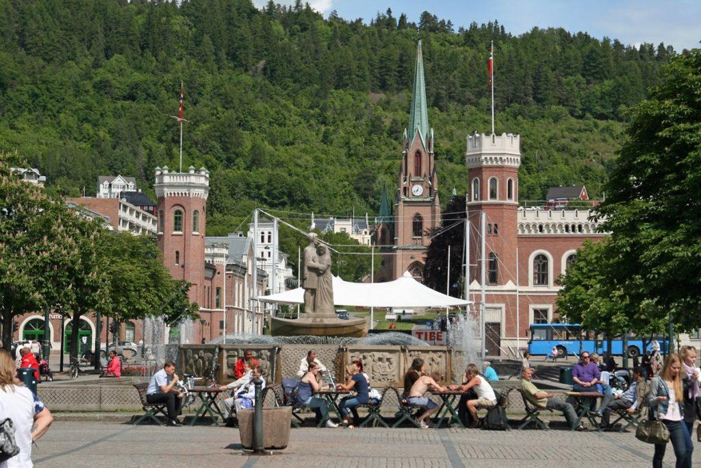 Bragernes torg Drammen