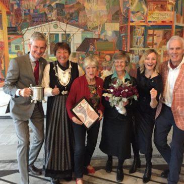 Den Norske Turistforening ble hederssenior 2017