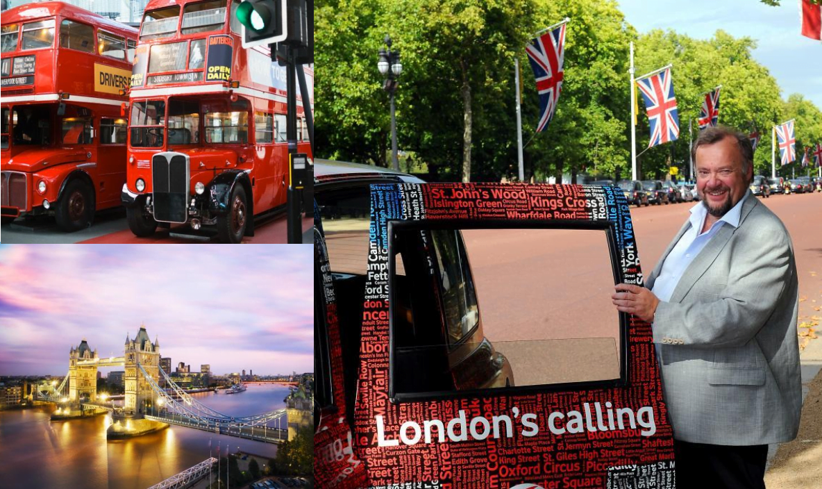Tur til London med Marvin Wiseth april 2018
