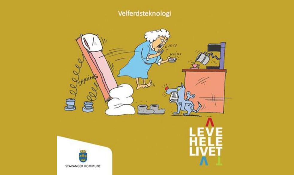 Leve hele livet, Stavanger kommune - Velferdsteknologi
