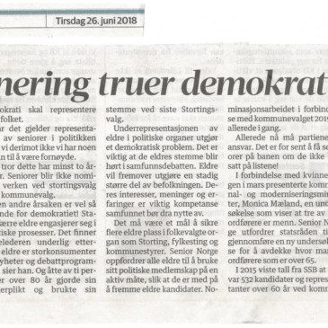 Diskriminering truer demokratiet
