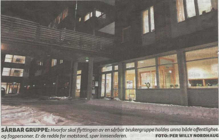 Eldreomsorgen Foto: Per Willy Nordhaug