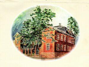 Den gamle krigsskolen Tollbugata 10